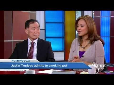 ▶ George Takei praises pot smoking Justin Trudeau - YouTube