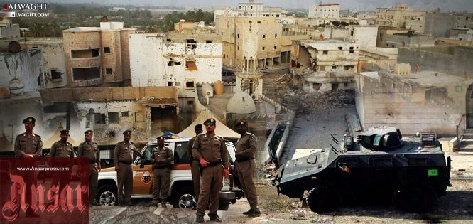 Shocking Conditions Faced by Civilians Inside Saudi Town Besieged by Regime Forces  http://ansarpress.com/english/7900