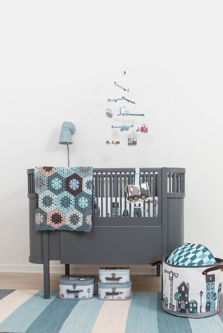Pierrot et Coco - Sebra Kili Baby Cot and Junior Bed - Dark Grey, £695.00 (http://www.pierrotetcoco.com/sebra-kili-baby-cot-and-junior-bed-dark-grey/)