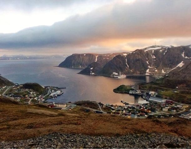 Honningsvåg, Norway. This little fishing village invites you to get to know the Sami culture, visit herds of reindeer, and join a  king-crab safari or a dog-sledding team under the Northern Lights.