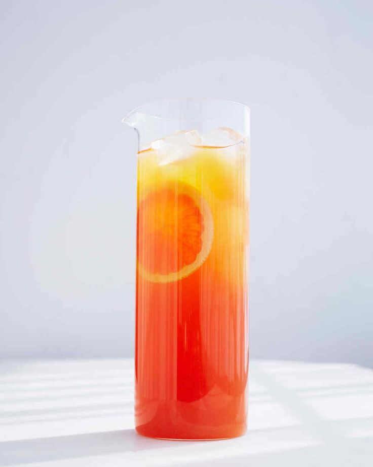 Rooibos Tea and Grapefruit-Ade | Martha Stewart Living - Another caffeine-free option, this combo has a bright, sunny taste.