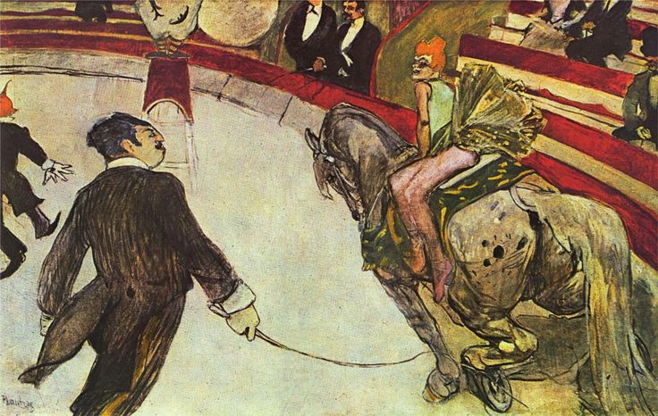 Henri de Toulouse-Lautrec - The Ringmaster - News - Bubblews