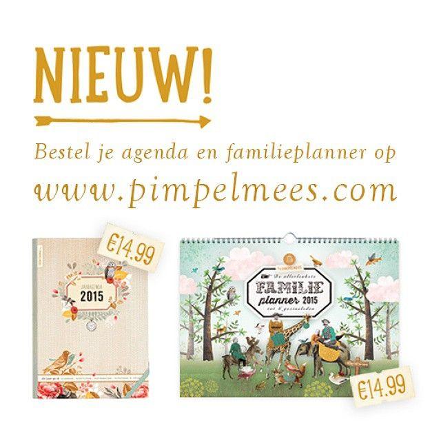 #pimpelmees #stationery #familieplanner #jaaragenda