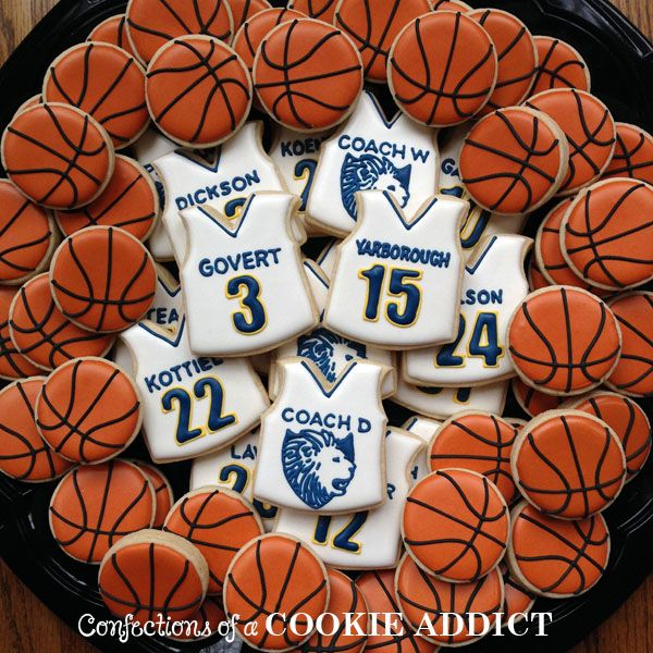 Trinity Boys Basketball Cookies