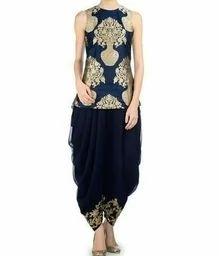 #kurtilove #dhotipants  #embroiderywork  #wow #roposoaddict #classyblue  #firdaus #thatsit