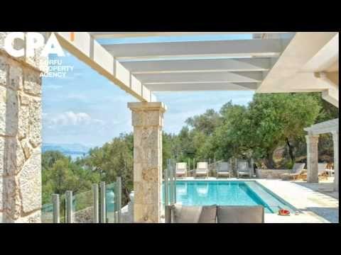 Stunning luxury sea view villa for sale in Barbati Corfu-CPA 3644 From: www.cpacorfu.com/en/properties/3644