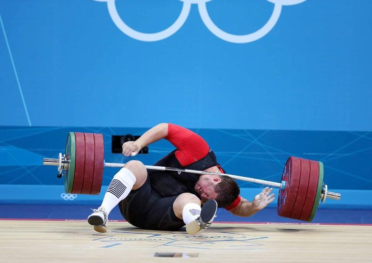 100 Greatest #Sports Photos of All-time  #85. London Olympics, Aug. 7, 2012 | Defending Olympic weightlifting champion Matthias Steiner of Germany lost his balance while trying to lift a...