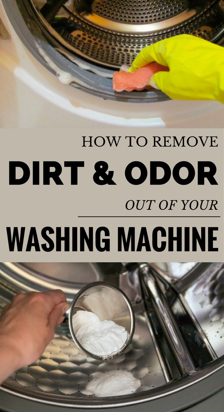 Learn how to remove dirt and odor out of your washing machine.