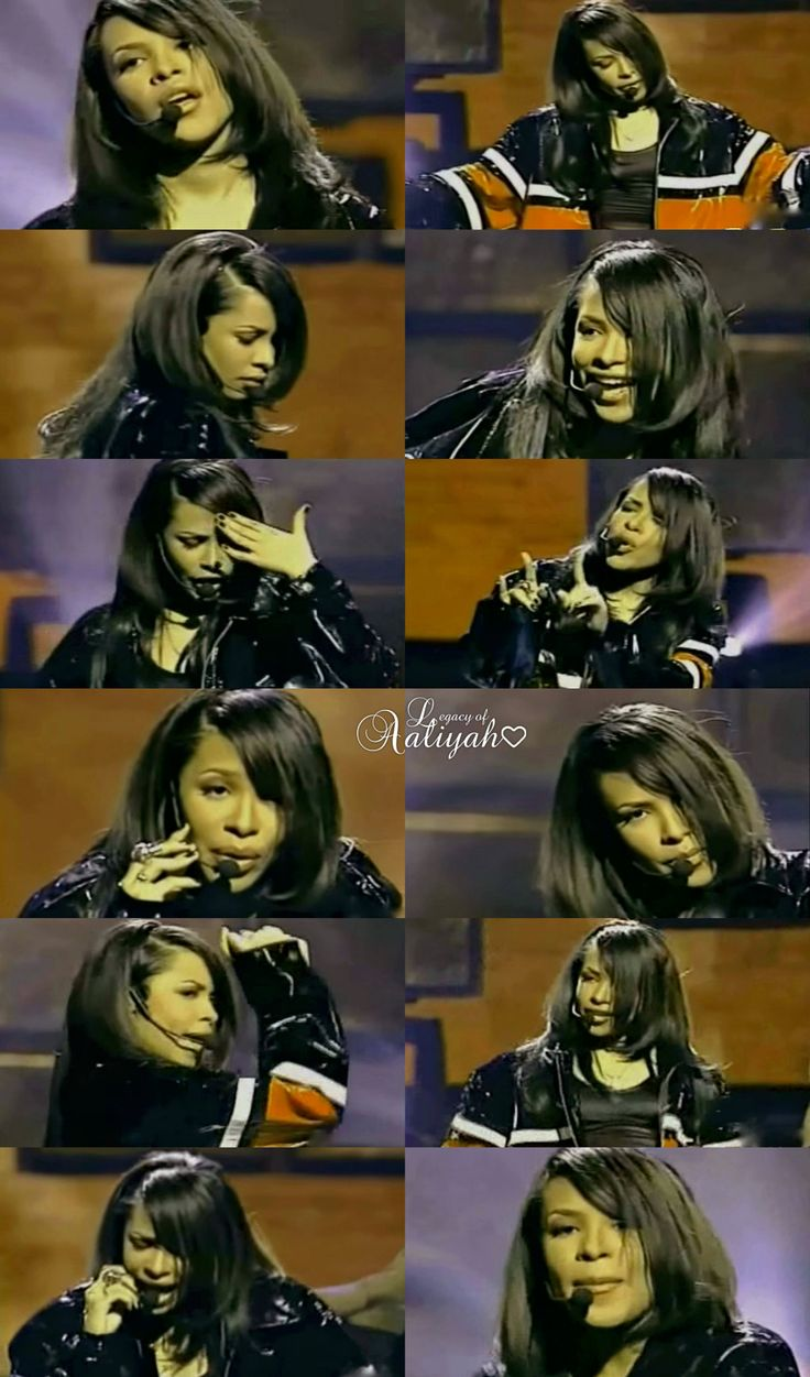 """Aaliyah performing""""One In A Million"""" live 