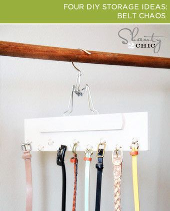 BrightNest | 2x4: Four #DIY Storage Ideas My husband definantly needs to make one of these for us!!
