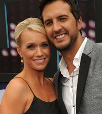 luke bryan and his wife kissing - Google Search
