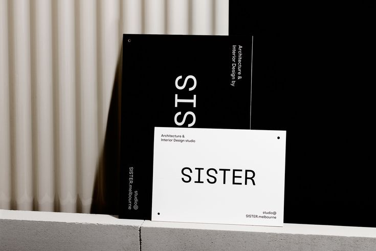 Sister, an architecture and interior design studio run by sisters Lauren and Amanda Martin, needed a strong identity to help position themselves as a new and confident studio in a competitive industry. We developed a visual identity that balances minimalism with warmth and tactility, relying on typography to support and soften a bold wordmark. Uncoated …