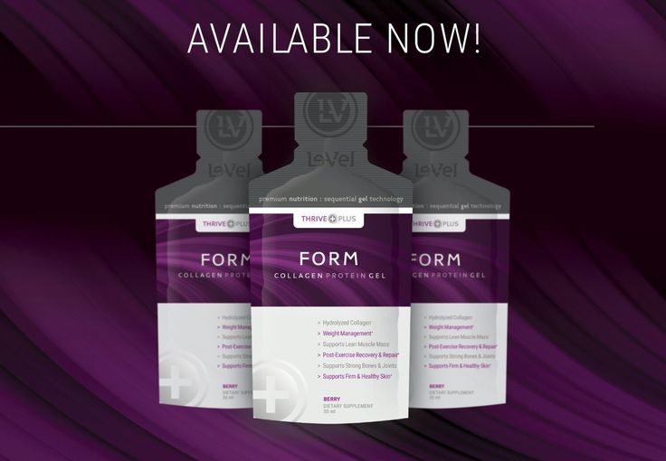 FORM ~ COLLAGEN PROTEIN SUPPORT >>#StrongBones #HealthySkinNailsHair #Wrinkles #StretchMarks  we start to loose our Natural Collagen Protein in our 20's~30's. We don't start seeing the results until our 50's~60's  See stories at BikerThriver63.thrive-reviews.com  Get started at  BikerThriver63.le-vel.com  Teresa  Le-Vel Independent Brand Promoter  #BikerThriver63