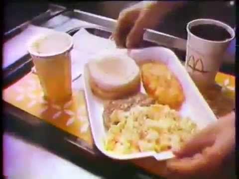 1977 McDonald's Breakfast Commercial - YouTube