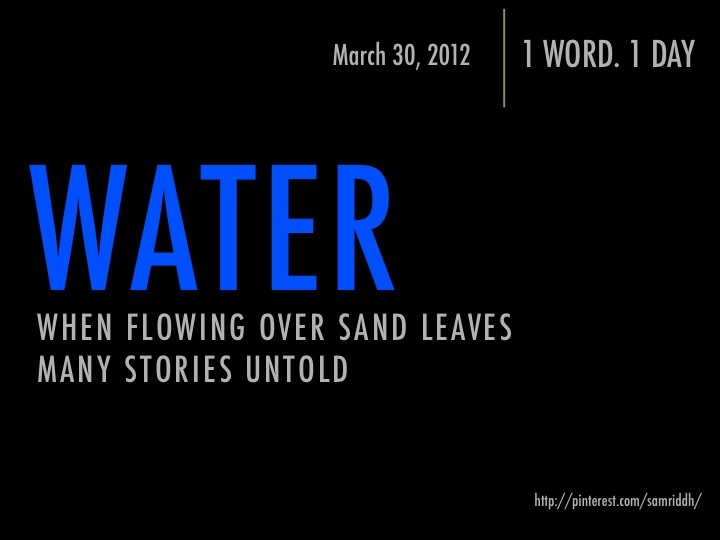 WATERWater, Quotes