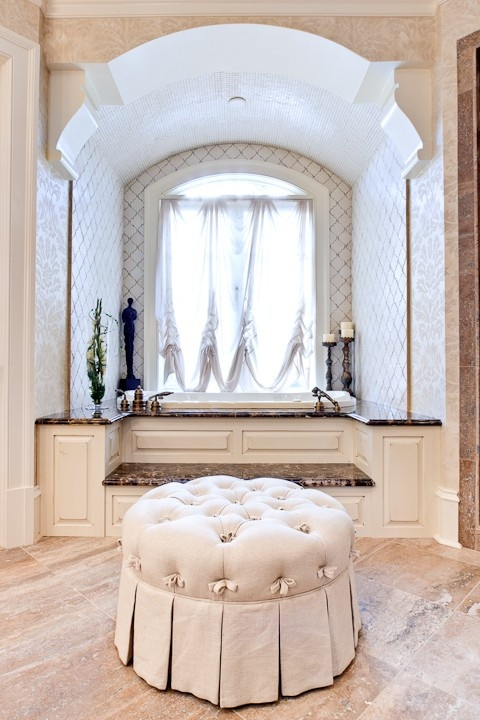 83 best for the home images on pinterest homes for the for Master bathroom ottoman