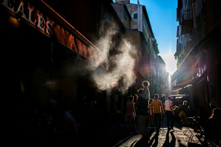 Smoke and light by Rudy Boyer on 500px