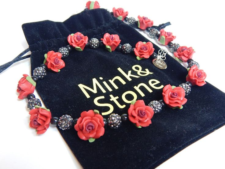 Make Your Own Necklace with Mink and Stone!