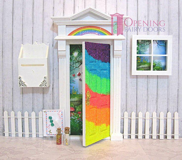 48 best opening fairy doors images on pinterest fairy for Rainbow fairy door
