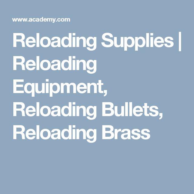Reloading Supplies | Reloading Equipment, Reloading Bullets, Reloading Brass