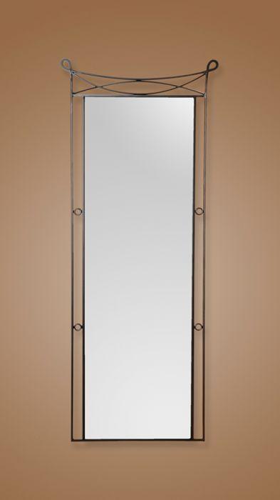 Espejo vestidor de forja modelo dunia legua artesanos for Modelos de marcos para espejos