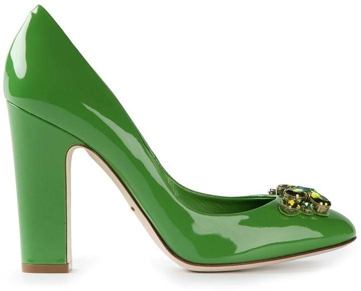 Dolce & Gabbana embellished pumps on shopstyle.com