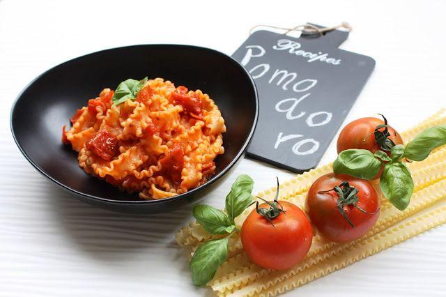 Frittomisto: cucina ed emozioni: Mafalde ai quattro pomodori