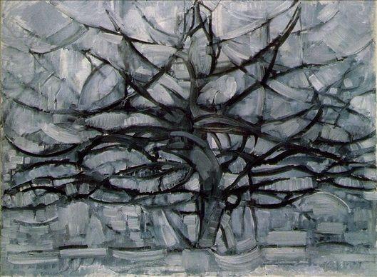 Árbol Gris. Piet Mondrian. 1911