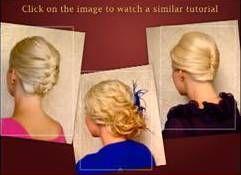 Нарядные прически для волос средней длины