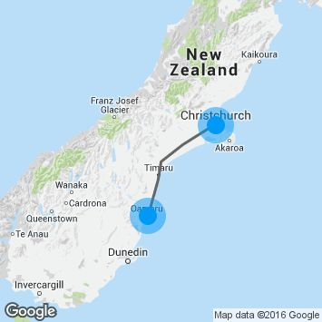 This 4-day itinerary takes you from Christchurch to Dunedin via Oamaru, enjoying heritage architecture, unique wildlife and beautiful coastal scenery.