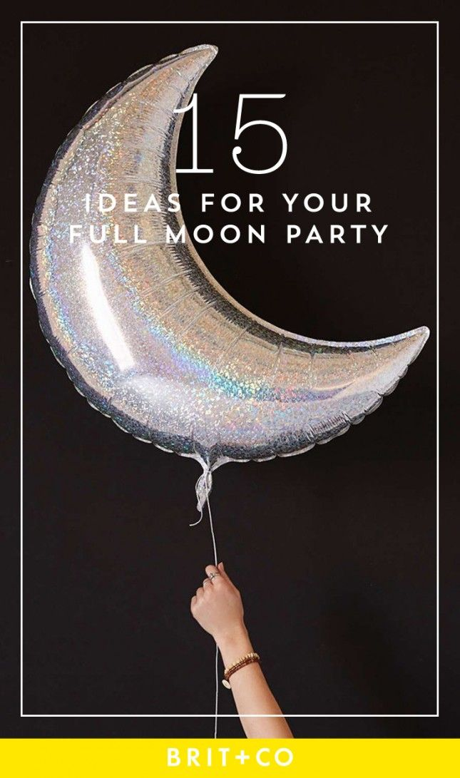 Let go of negative vibes with a lunar-inspired get-together.