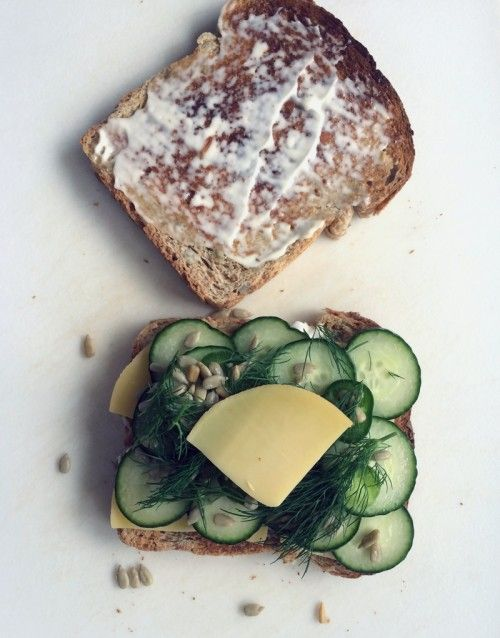 the best cucumber & cheese sandwich ever   everybody likes sandwiches