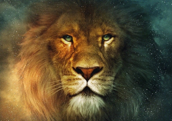 Aslan, the Great Lion from C.S. Lewis' The Chronicles of Narnia series.