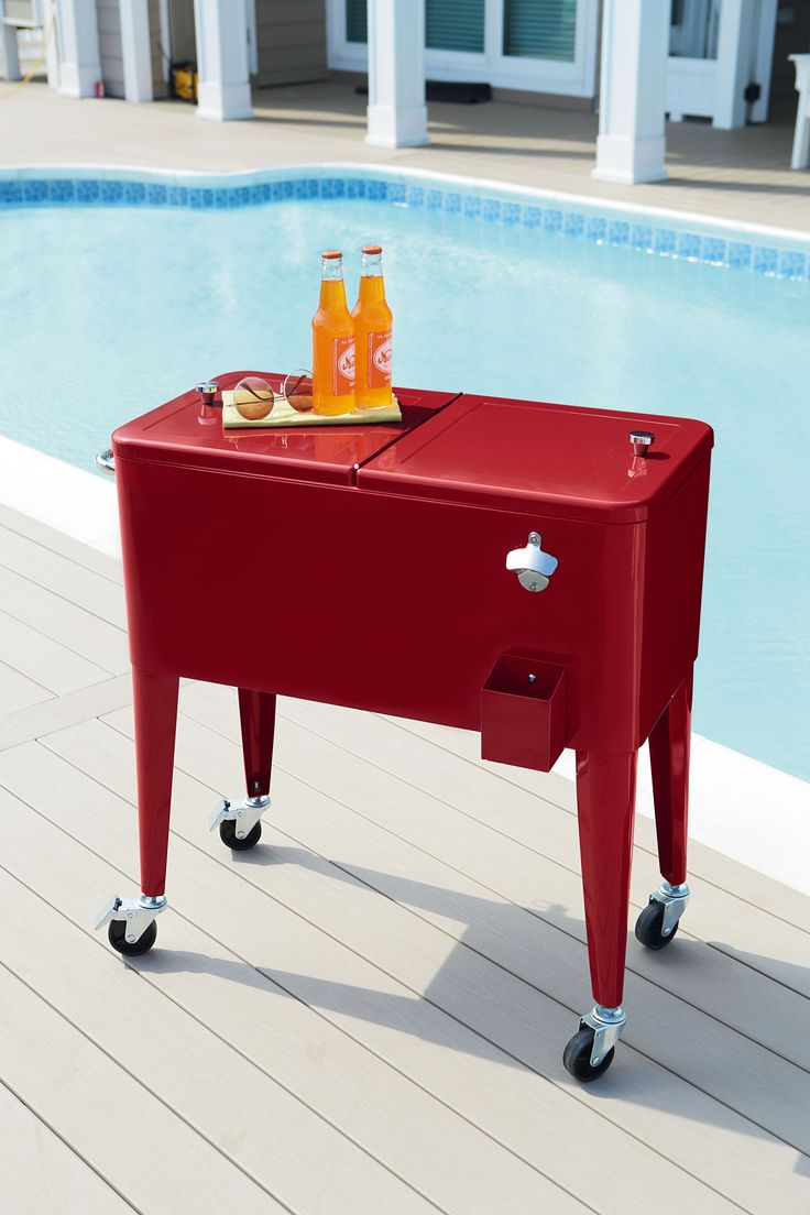 Patio Rolling Cooler Cart: 1000+ Ideas About Patio Cooler On Pinterest