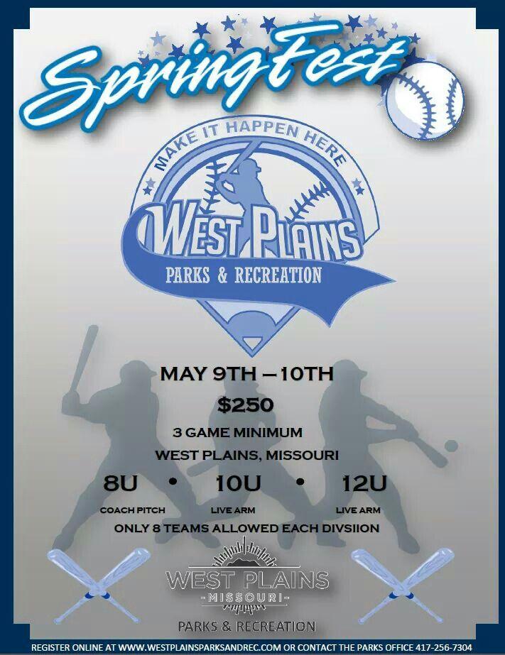 Baseball Flyer  Parks  Recreation Posters