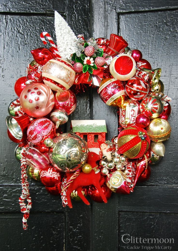 Berry Merry Wreath ©Glittermoon Vintage Christmas 2013