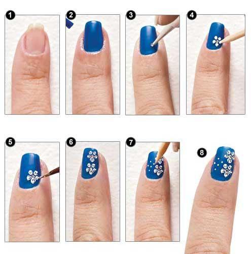 Tendencia: Uñas decoradas con flores ideales para el verano - http://xn--decorandouas-jhb.com/tendencia-unas-decoradas-con-flores-ideales-para-el-verano/