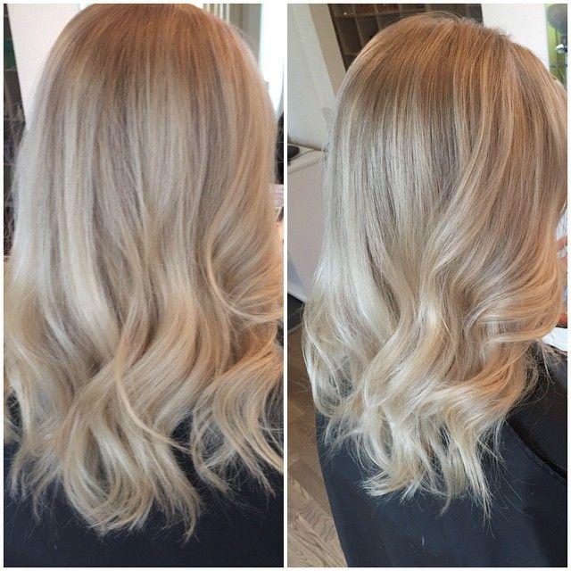 #mulpix Slutresultatet efter nerkylning och frihands slingor #natural #blond #ash #highlights #slingor #frisörmalmö #frisör #blissiz #hår #kall #ljus #kallblond #styling #summer #hair #natur