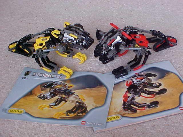 eBay #Sponsored Lego Bionicle 8538 MUAKA & KANE-RA Rahi