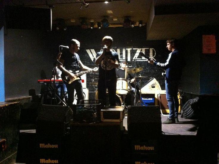 Prueba de sonido en Wurllitzer Madrid!