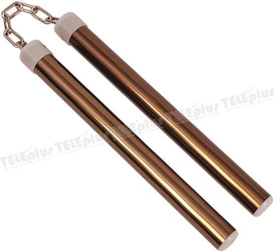 Do-Smai Aliminyum Nunçhaku DA-642 - Çelik terminlenmiş aliminyumdan üretilmiştir.  Polyemit tapalı. Çap: 2.5 cm. Boy: 27 cm.'dir. - Price : TL59.00. Buy now at http://www.teleplus.com.tr/index.php/do-smai-aliminyum-nunchaku-da-642.html