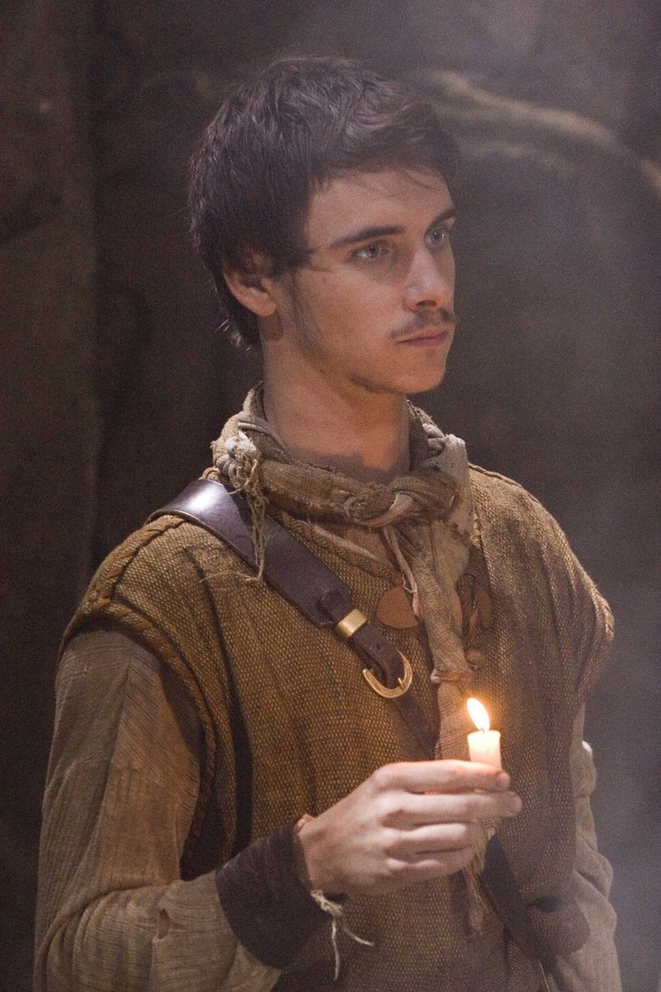 Will Scarlet from the BBC Robin Hood. Between him, Jonas Armstrong, and Joe Armstrong, there's some serious eye candy going on in Robin Hood!