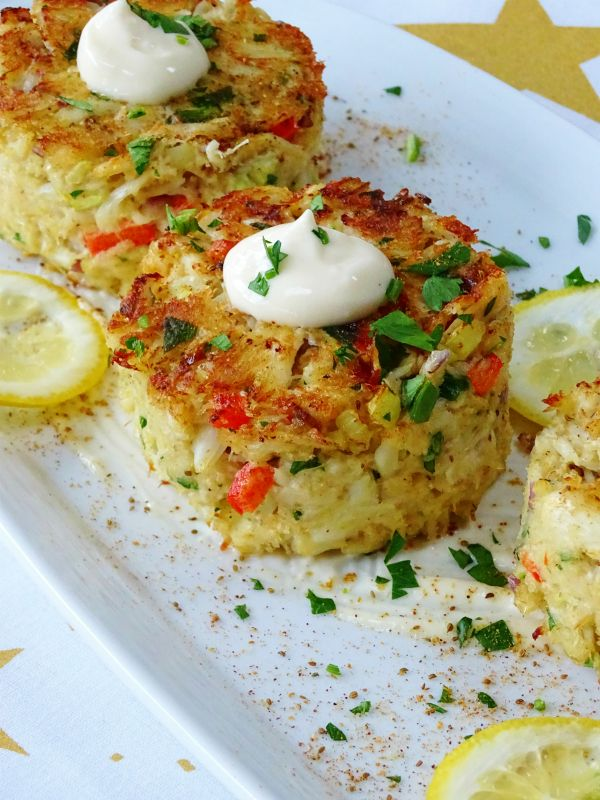 Simple Crab Cake Recipe Baked