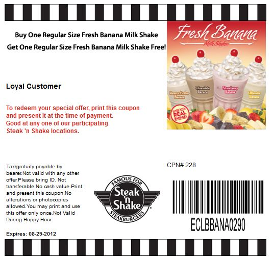 Best 25+ Steak n shake coupons ideas on Pinterest   Steak 'n shake ...