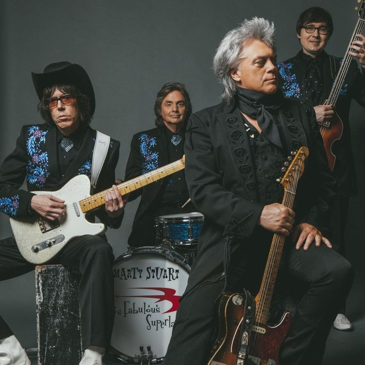 "Hear the world premiere of a new track from Marty Stuart and His Fabulous Superlatives forthcoming album ""Way Out West"" produced by Mike Campbell of Tom Petty and the Heartbreakers at 6 pm ET today on SiriusXM Outlaw Country, Channel 60."