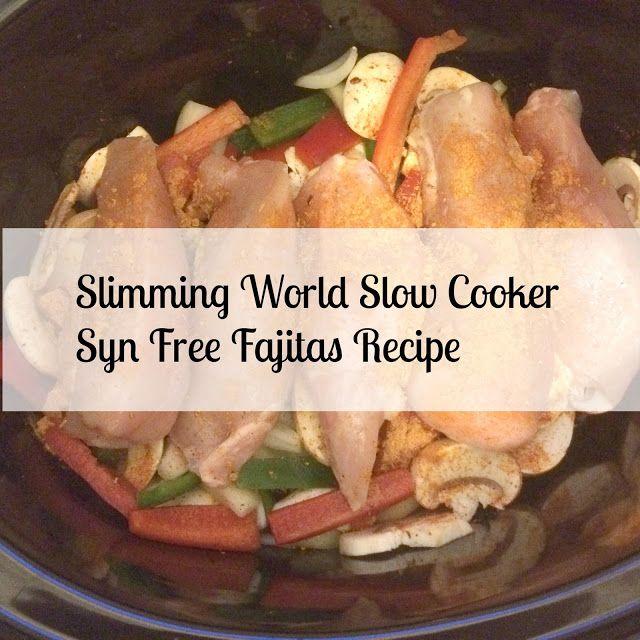 Newcastle Family Life: Slimming World Slow Cooker Chicken Fajitas Recipe syn free