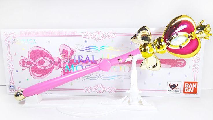Sailor Moon Spiral Heart Moon Rod Proplica Review Comparison 2015