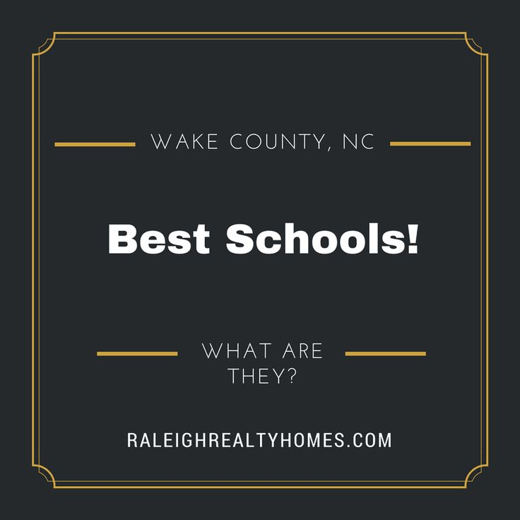 Wake County Best Schools and Ratings