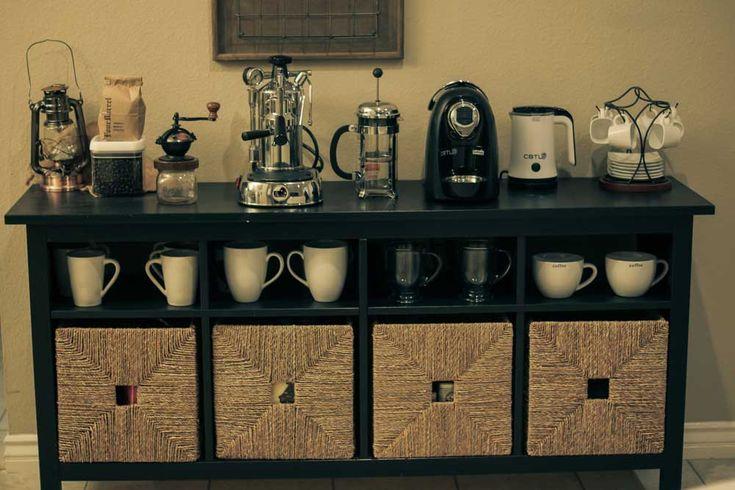 best 25 home coffee stations ideas on pinterest tea. Black Bedroom Furniture Sets. Home Design Ideas
