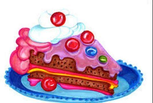 Foto: Oggi é il mio compleanno e grazie al mio alleato ho potuto mangiare una mega fetta di torta